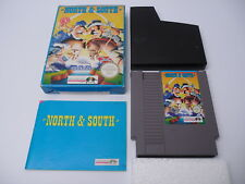 North & South (PAL-B) Nintendo NES Complete in box CIB OVP