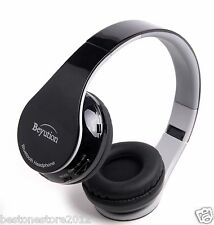 Best Gift HiFi Stereo wireless Bluetooth Headphones for all Cell phones with Mic