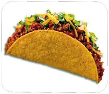 TACO MOUSE PAD - 1/4 IN. FOOD BEVERAGE MOUSEPAD