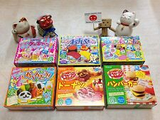 Kracie Popin' Cookin' and Happy kitchen DIY Kit 6 pcs special set !!!