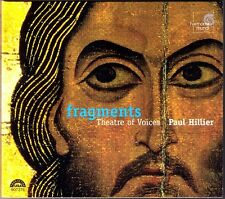 FRAGMENTS Theatre of Voice PAUL HILLIER Italy Greece Russia England Polyphony CD