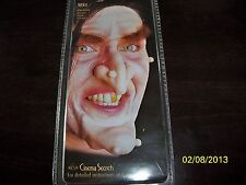 WOOCHIE PACK OF 3 UGLY WARTS WITCH OLD WOMAN MONSTER COSTUME MAKEUP FA38