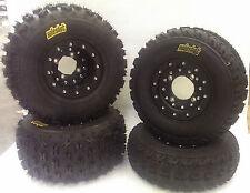 Hiper CF1 Beadlock Wheels ITP XCR Tires Front/Rear Kit Honda TRX 450R 400EX 250R
