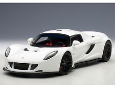 1:18 AutoArt - Hennessey Venom GT Spyder - White  NEW IN BOX