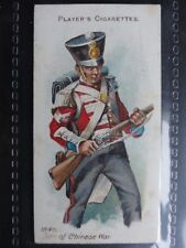 No.48 1840 CHINESE WAR, A CORPORAL - Arms & Armour (Blue) - Player 1909