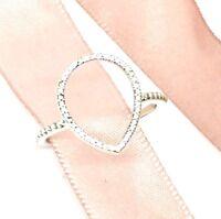 Genuine Pandora Teardrop Silhouette Ring