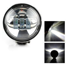 72W Round LED Work Light Car Spot Beam Offroad Driving Lighting SUV Bar Lamp