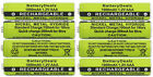 1.2V NiMH AAA Rechargeable Batteries for Panasonic Cordless Phones 8-Pack