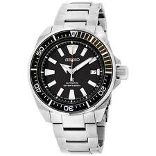 Seiko Prospex Samurai Divers 200m Automatic Steel Bracelet Watch SRPB51