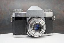 - Zeiss Ikon Contaflex 35mm Camera w/ 50mm Tessar Lens