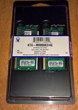 Kingston KTA-MB800K2/4G Apple P/N: MB413G/B 4GB Memory Kit (2x2GB)