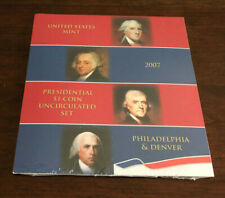 2007 Presidential Dollar Coins Uncirculated Set (PD)