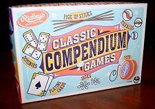 Ridley's Classic Compendium of Games - Marbles, Jacks, Yo-Yo, Pick Up Sticks