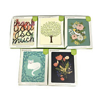 Thank You / Greeting Cards 10 Pack Blank - Choose Style NEW - Some Boxes Damaged