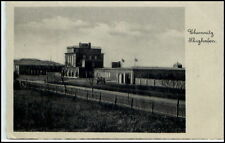 CHEMNITZ Sachsen 1936 FLUGHAFEN Gebäude Airport Dt. Reich AK ab SIEGMAR SCHÖNAU