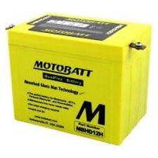 New MBHD12H MotoBatt Sealed AGM QuadFlex Motorcycle YHD12H Replacement Battery