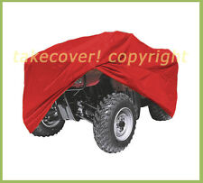 Suzuki LT 300 Quadrunner King Quad ATV Cover RED Size Large ATCRPB-SZQKQ3LR4
