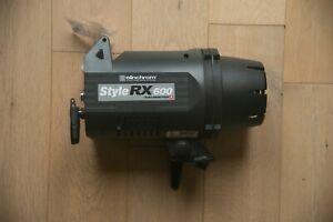 Elinchrom 600RX Style Compact Flash Head w/Eli wireless transceiver