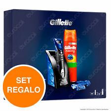 Gillette Fusion Proglide Styler con 3 Regolatori Fusion5 Gel da Barba 200 ml