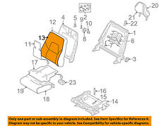 VOLVO OEM 03-04 S80 Front Seat-Cushion Cover-Top Back 39967894