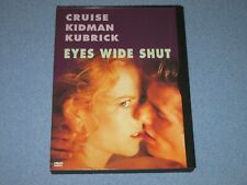 Eyes Wide Shut (Dvd, 2000) *Rare, Oop!* Kubrick, Tom Cruise, Nicole Kidman