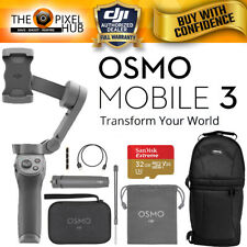 DJI Osmo Mobile 3 Handheld Smartphone Gimbal Combo Kit + 32GB and Sling Backpack