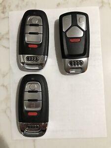 Key fob lot 3 Audi remotes