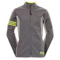 Adidas GOLF Gore Windstopper Active Shell FULL ZIP WINDPROOF Jacket TOP