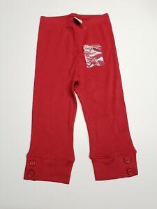 "NWOT Vintage GYMBOREE ""Bon Voyage"" red Crop Leggings Size 4"