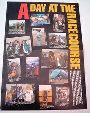 "METALLICA KISS Guns Donington 1988 Centerfold magazine POSTER  17x11"""