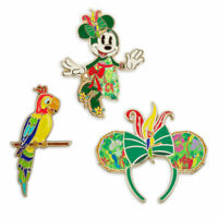 Minnie Mouse The Main Attraction Pin Set Enchanted Tiki Room - In Hand Fast Ship