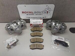 Toyota Sequoia 2001-2007 Rear Brake Caliper & Pad Set Genuine OE OEM