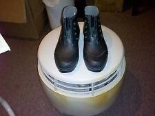 Women's Eddie Bauer Rain Boots Shoes Size 7M (No Laces)--Black