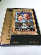 """DVD """"EL PUENTE SORBRE EL RIO KWAI"""" DVD LIBRO DIGIBOOK PRECINTADO SEALED HUSTON"""