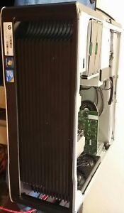 WORKSTATION HP Z600 2X XEON X5570 24GB DDR3 HDD WD 1TB NVIDIA nvs