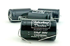 Amp part, TAD audio Electrolytic Capacitor 220uF 350V - condensateur X1