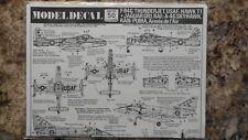 1/72 Model Decal Set #50 Various Aircraft
