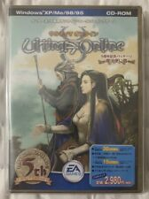 Rare Japanese Ultima Online 5th Anniversary Edition With Guidebook New Sealed
