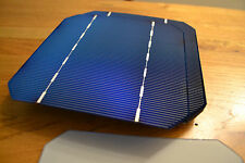 """Grado A 125mm 5"""" Monocristalino Bare Células Solares Para Bricolaje 17.5% de eficiencia"""