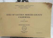The Soils of Eastern Merced County