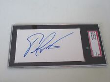 Eric Lindros Autographed 3X5 Index Card-Sgc Slab-Encapsulated-Flyers- Hof
