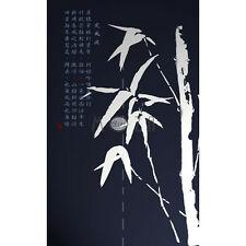 Japanese Noren Tapestry Door Curtain Bamboo 100% Polyester 82cm x 140cm
