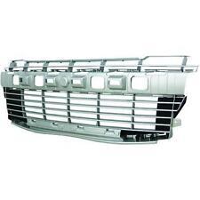 Cuadrícula Panel radiador delantero PEUGEOT 206 Más, 09- pintado plata