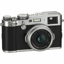 FUJI FUJIFILM X-100F Digital Camera in Silver (UK Stock) BNIB
