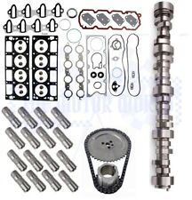 2001 - 2006 GM 4.8 5.3 roller Camshaft, Lifters, timing chain, Head Gasket set