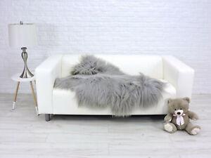 GIANT SHEEPSKIN RUG ICELANDIC SHEEPSKIN SHAG RUG AREA RUG FLUFFY RUG FUR RUG 270