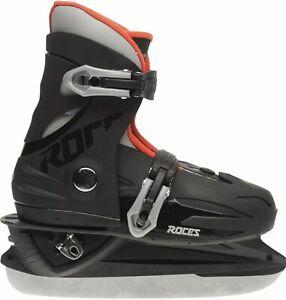 Roces Kids Boys MCK II Ice Skates Juniors Classic Buckle adjustable 12jr - 2
