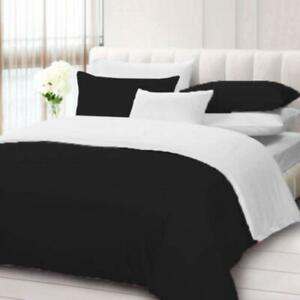 1000 Thread Count Egyptian Cotton Reversible Duvet Collection US Full & Colors