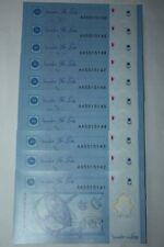 (PL) NEW SALES: RM 1 AA 5515141-50 UNC 10 PCS ZETI 12TH SERIES 1ST PREFIX