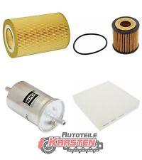 FilterSet (L): 1x Innenraumfilter, 1x Luftfilter, 1x Ölfilter, 1x Kraftstofffil